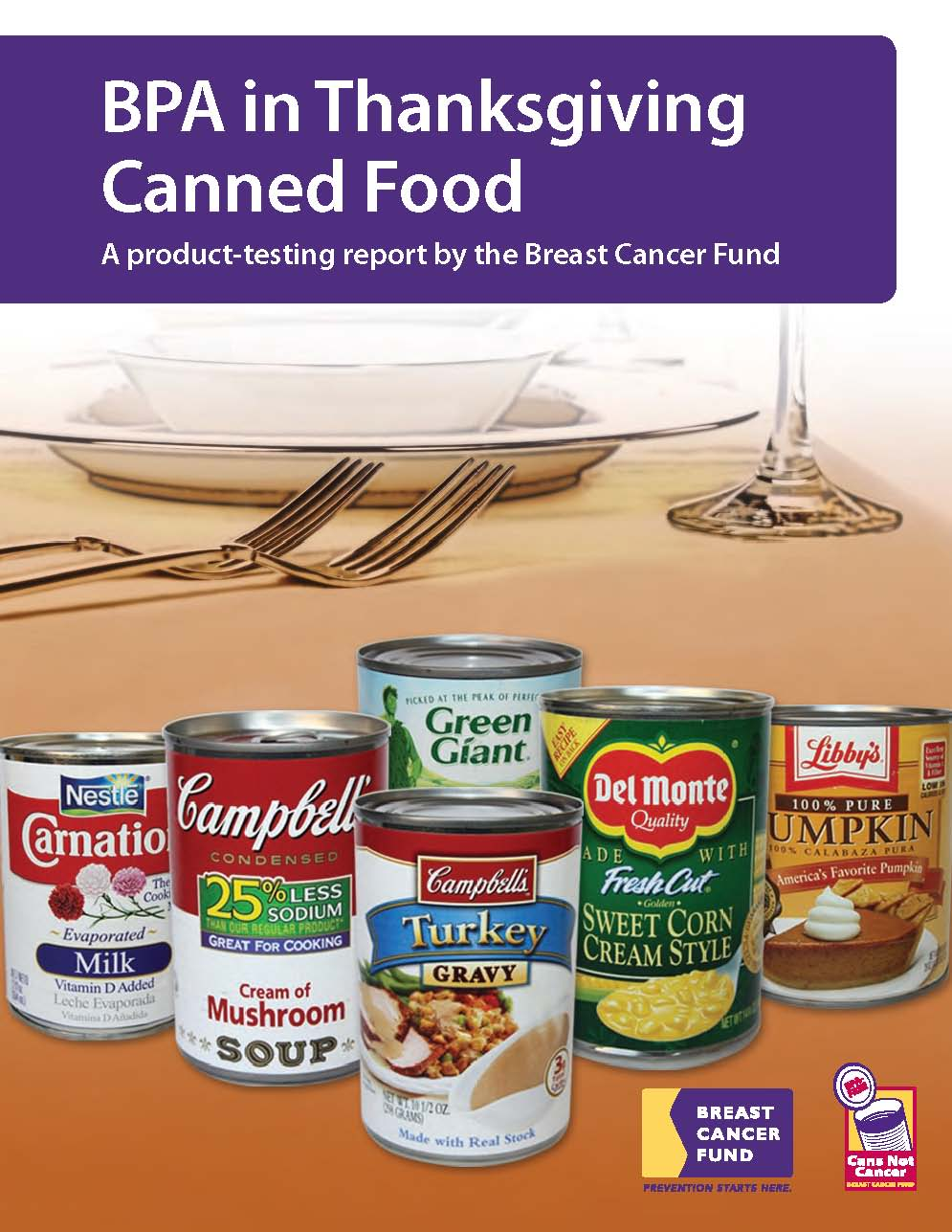 Canned Food Cancer