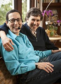 Barbara Brenner and Susie Lampert