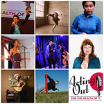 Acting Out 2017 performer collage email