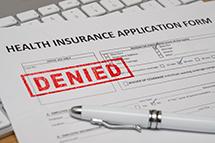 health insurance denial small