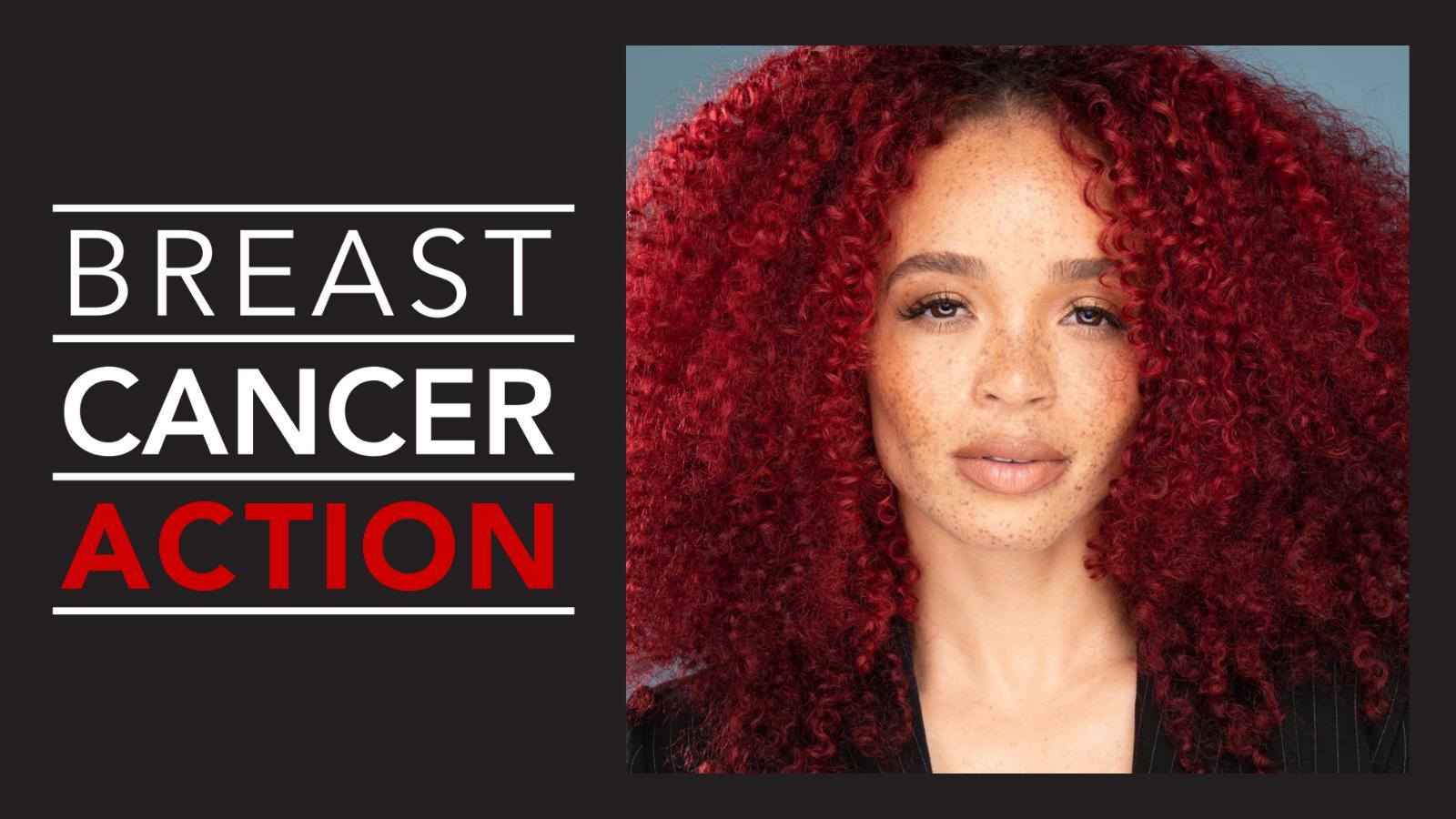 Krystal Redman and Breast Cancer Action Logo