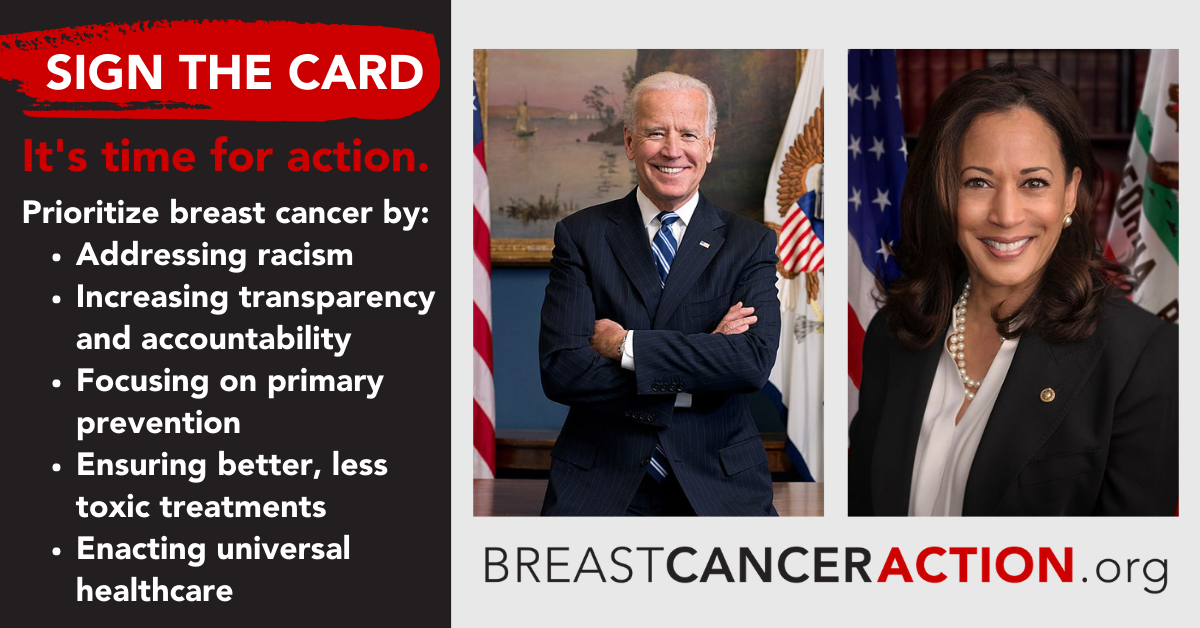 Sign the card to President Biden and Vice President Harris