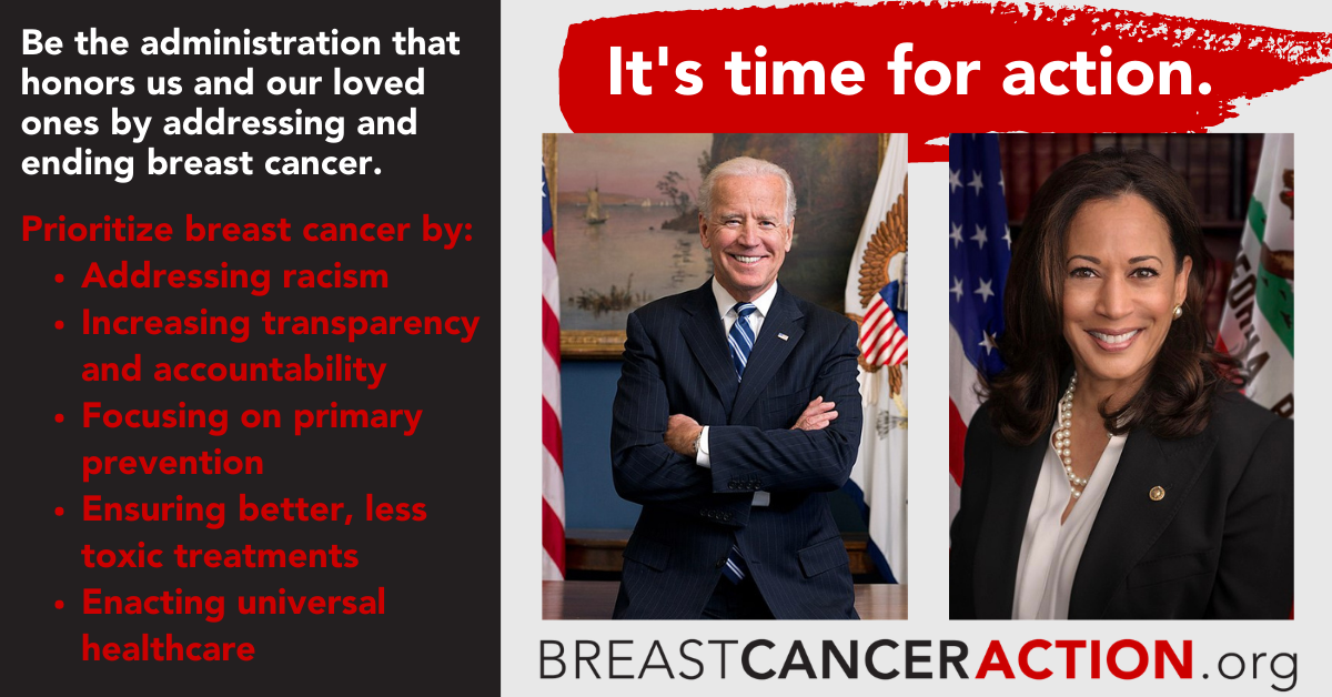 Biden-Harris be the administration that prioritizes breast cancer