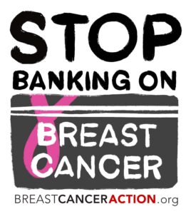 Stop Banking on Breast Cancer Logo